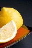 Rebanadas del limón Imagenes de archivo