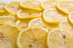 Rebanadas del limón Fotografía de archivo