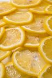 Rebanadas del limón Imagen de archivo