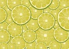 Rebanadas del limón Fotos de archivo