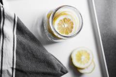 Rebanadas del limón Imágenes de archivo libres de regalías