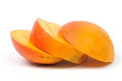 Rebanadas del mango Foto de archivo