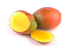 Rebanadas del mango Imagen de archivo libre de regalías