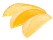 Rebanadas del mango fotografía de archivo