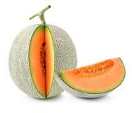 Rebanadas del melón del cantalupo fotografía de archivo libre de regalías