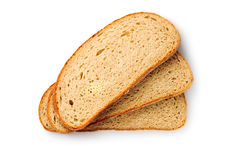 Rebanadas del pan Fotografía de archivo libre de regalías