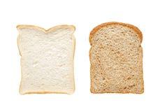 Rebanadas del pan Foto de archivo libre de regalías