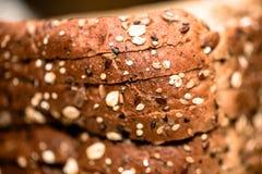Rebanadas del pan Imágenes de archivo libres de regalías