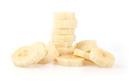 Rebanadas del plátano Imagen de archivo