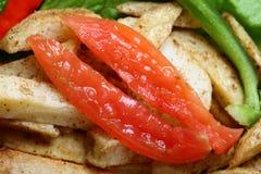 Rebanadas del tomate Imagen de archivo