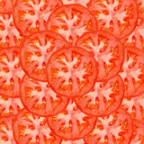 rebanadas del tomate Fotografía de archivo