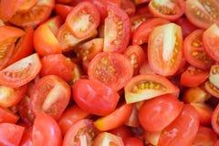 rebanadas del tomate Imagenes de archivo