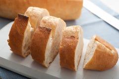 Rebanadas turcas del pan Fotografía de archivo libre de regalías
