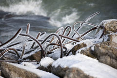 rebar πάγου Στοκ φωτογραφία με δικαίωμα ελεύθερης χρήσης