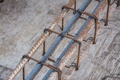 Rebar bending shape Stock Images