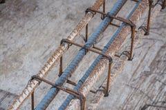 Rebar bending shape Stock Images