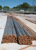 Rebar bundles Royalty Free Stock Photo
