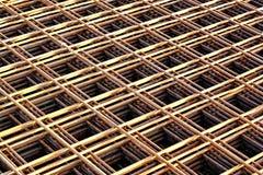 Rebar grids Royalty Free Stock Image