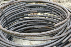 Rebar hoops Royalty Free Stock Photo