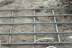 Rebar mat Royalty Free Stock Image