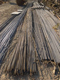 Rebar metal rods Stock Photos