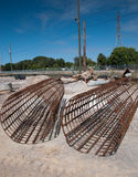 Rebar tubes Stock Photos