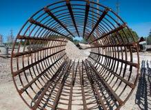 Rebar-Tunnel Stockbild