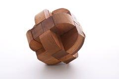Rebarba de madeira Imagem de Stock