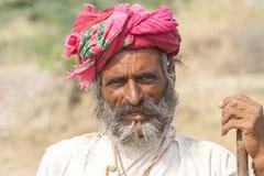 Rebari folk Arkivfoton