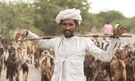 Rebari folk Arkivbilder