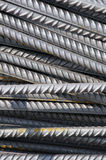 Rebars. A big pile of rebars for building construction Stock Image