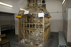 Rebbi Elimelech坟墓- Lezajsk -波兰 库存照片