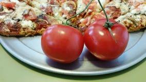Rebe gereifte Tomaten Lizenzfreie Stockfotografie