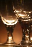 Rebe-Gläser mit Leuchte Stockbilder