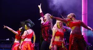 Rebeca spełnianie na scenie w Caldas da Rainha obrazy royalty free