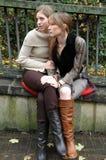 Rebecca e Kristina10 fotografia de stock