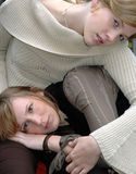 Rebecca e Kristina13 imagem de stock royalty free