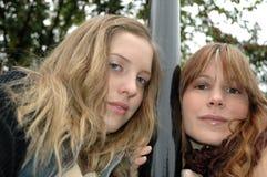 Rebecca en Kristina1 Stock Foto's