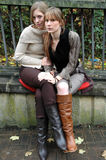 Rebecca en Kristina9 Royalty-vrije Stock Foto's