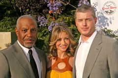 Rebecca Gayheart,Eric Dane,James Pickens,James Pickens Jr,James Pickens Jr.,James Pickens, Jr. James Pickens Jr. with Rebecca Gayheart and Eric Dane  at the 7th Stock Photo