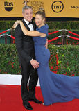 Rebecca Gayheart & Eric Dane. LOS ANGELES, CA - JANUARY 25, 2015: Rebecca Gayheart & Eric Dane at the 2015 Screen Actors Guild  Awards at the Shrine Auditorium Stock Photography