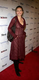 Rebecca Gayheart. WEST HOLLYWOOD, CALIFORNIA. November 30, 2005. Rebecca Gayheart attends the Art of Elysium Presents Russel Young `fame, shame and the realm of Royalty Free Stock Photo