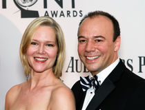Rebecca Luker and Danny Burstein Royalty Free Stock Photo