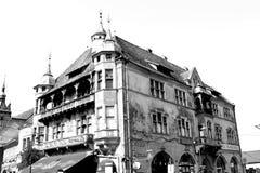Rebecca 36 Paysage typique dans la ville Sighisoara, la Transylvanie photos libres de droits
