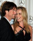 Rebecca Romijn e Jerry O'Co imagens de stock royalty free