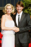 Rebecca Romijn and Jerry O'Connell Royalty Free Stock Photos