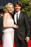 Rebecca Romijn and Jerry O'Connell Stock Photography