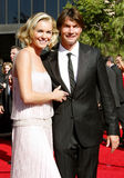Rebecca Romijn and Jerry O'Connell Stock Photos
