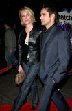 Rebecca Romijn-Stamos. Actor JOH STAMOS & model wife REBECCA ROMIJN STAMOS at the Los Angeles premiere of Snatch. 18JAN2001. Paul Smith/Featureflash stock photo