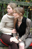 Rebecca und Kristina12 lizenzfreie stockfotos